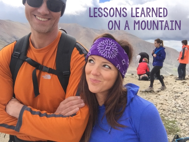 lessons on a mountain
